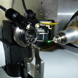 OAV mounted on a MD2-S X-ray diffractometer.