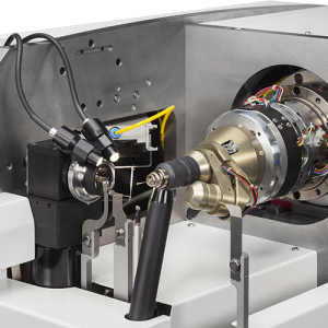 MD2-S X-ray Microdiffractometer - zoom on beam shapping devices, goniometer head and On-axis Video microscope