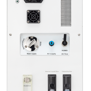 HC-Lab Humidity Controller: back view of the Hc-Lab.