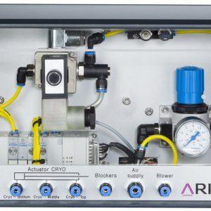 REX Rapid nozzle Exchanger - Control Box - front view