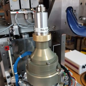 Smartmagnet Sample Holder mounted on MD3-up X-ray high precision diffractometer