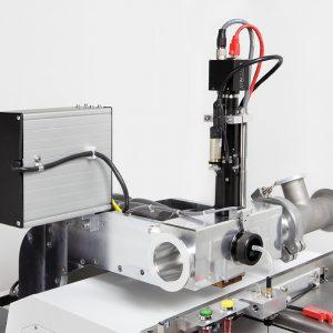 BioSAXS Sample changer robot- Arinax Scientific Instrumentation: view of exposure head