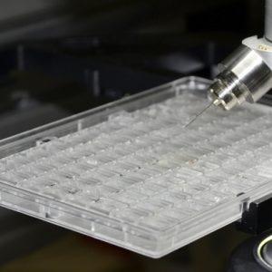 CrystalDirect Plate - inside CrystalDirect robot