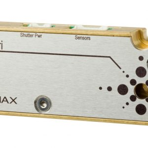 The Colibri X-ray shutter developed by Arinax is a millisecond shutter dedicated to MX crystallography beamlines. It achieves a fast rising time of 1 ms.